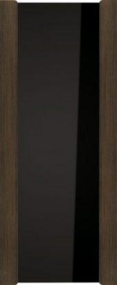 Африканский орех, стекло черное