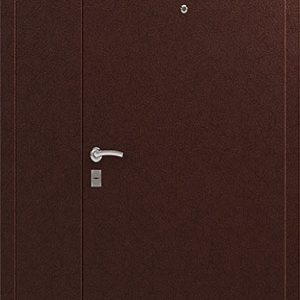 Дверь входная Сибирь 3 двухстворчатая