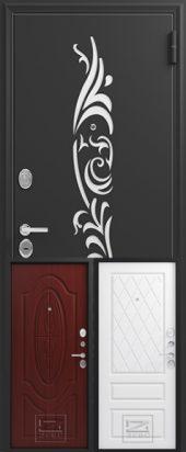 Дверь входная Зевс 7 с перфорацией