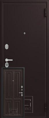 Дверь входная Зевс 6 шелк бордо