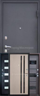 Дверь входная Катюша