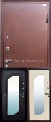 Входная дверь Селенга с зеркалом