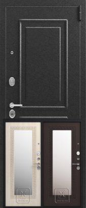 Дверь входная Легион 1 с зеркалом