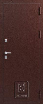 Т1 внешняя сторона входной двери с терморазрывом.