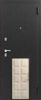 Т2 входная дверь с термо-разрывом. Цвет седой дуб.