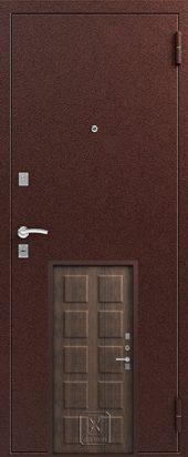 Т2 входная дверь с терморазрывом. Расцветка тик.