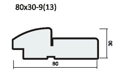 Комплект короба ПВХ 42мм с уплотнителем