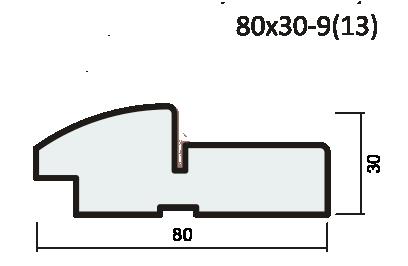 Комплект короба ПВХ 37мм с уплотнителем