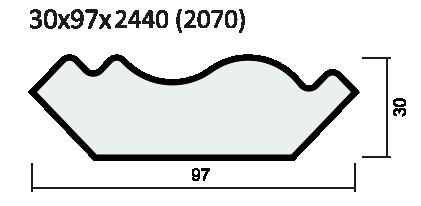Наличник капитель ПВХ, экошпон