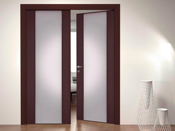 распашные двойные двери
