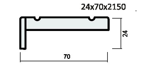 Наличник ПВХ экошпон артшпон, резной.