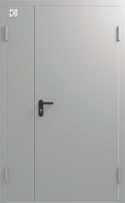 Дверь противопожарная ДПМ EI WS 60 двупольная 1250/2050