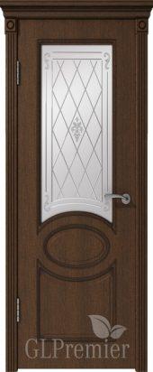 Межкомнатная дверь GL PREMIER с остеклением ПВХ
