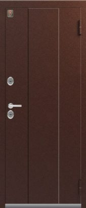 Входная дверь с терморазрывом Т3.  Металл/Металл. С магнитным уплотнителем.
