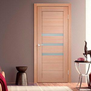Интерьер с межкомнатной дверью - уника 5 3D экотекс