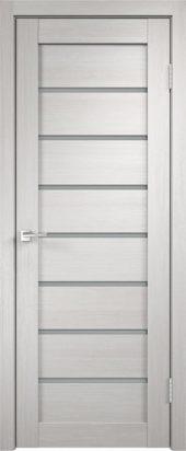 Межкомнатная дверь - уника 1 3D экотекс белый