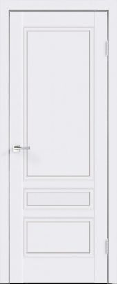 Дверь межкомнатная белая эмаль SCANDI 3Р