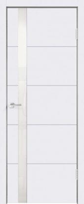 Дверь межкомнатная белая эмаль SCANDI F Z1