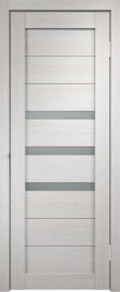 Межкомнатная дверь - уника 5 3D экотекс белый