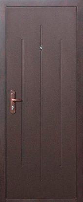Входная дверь Стройгост 5-1 металл/металл Внутреннее открывание