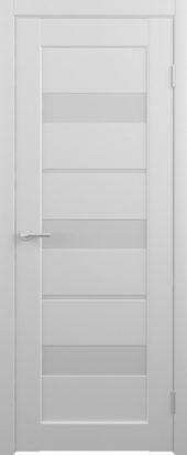 Дверь матовая межкомнатная Бостон Vinyl белый
