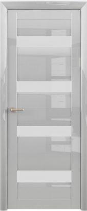 Дверь глянцевая межкомнатная барселона белый
