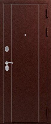 Железная дверь Эталон Х20, медь