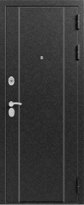 Железная дверь Эталон Х30, серебро