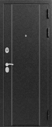 Железная дверь Эталон Х10, серебро
