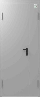 Дверь противопожарная Центурион ДПД EIS30 Двупольная 1350/2050