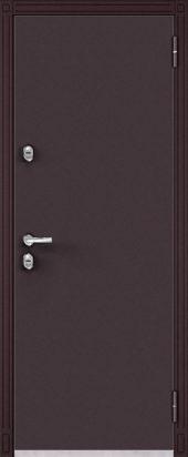 входная термо-дверь Termo 100 td2 шоколад