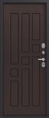 Железная дверь Эталон Х10, венге