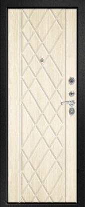 Железная дверь Эталон Х30, седой дуб