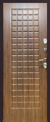Железная дверь Эталон Х20, орех