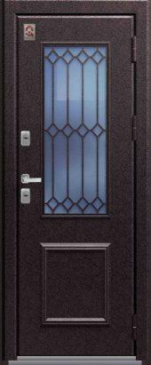 Входная дверь Центурион со стеклом, премиум Т-1