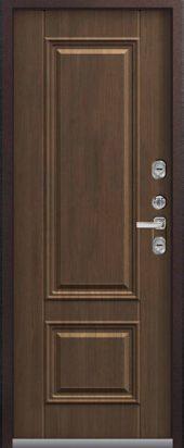 Входная дверь Центурион премиум Т-2 с терморазрывом, дуб мелвил
