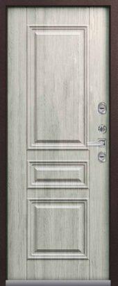 Входная дверь Центурион премиум Т-3 с терморазрывом , полярный дуб