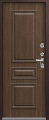 Входная дверь Центурион премиум Т-3 с терморазрывом, дуб мэлвил