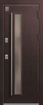 Входная дверь с остеклением, премиум Т-4