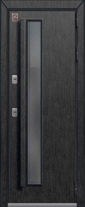 Входная дверь со стеклопакетом, премиум Т-5