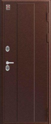 Входная уличная дверь Центурион С-103. Металл/металл