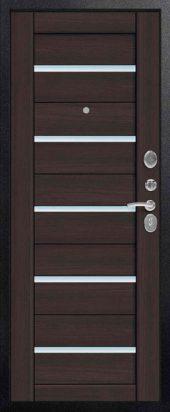 Входная дверь Центурион С-107 лиственница темная вена