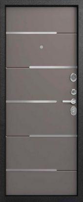 Входная дверь Центурион С-108. софт грей (серый)