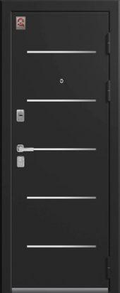 Входная дверь с молдингом Lux-2
