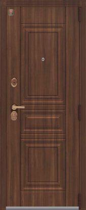 Входная дверь с МДФ отделкой под классику Lux-4 внешняя сторона