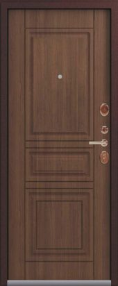 Входная дверь Lux-4 миндаль