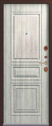 Входная дверь Lux-4 полярный дуб