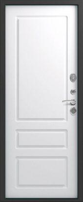 Входная дверь Lux-11 белый софт