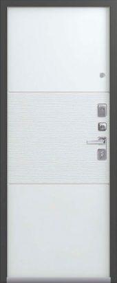 Входная дверь Lux-7 белый софт