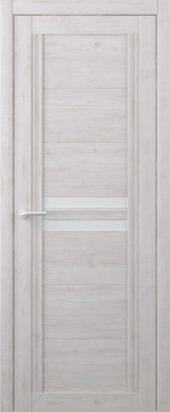 Дверь межкомнатная Вест Каролина жемчуг белое стекло